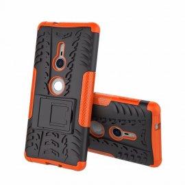 Funda Sony Xperia XZ2 Armadura Resistante Naranja