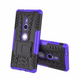 Funda Sony Xperia XZ2 Armadura Resistante Violeta