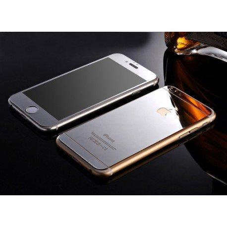 Kit Protector Pantalla Cristal Templado Iphone 6S Plata