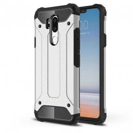 Funda LG G7 Shock Resistante Gris Plata