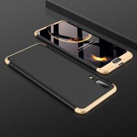 Funda 360 Huawei P20 Negra y Oro