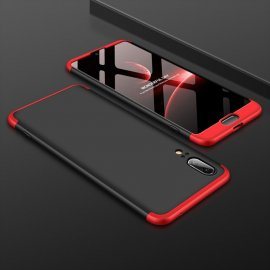 Funda 360 Huawei P20 Negra y Rojo