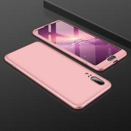 Funda 360 Huawei P20 Rosa