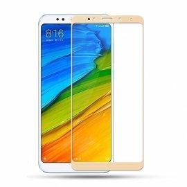 Protector Pantalla Cristal Dorado Templado Xiaomi Redmi 5 Plus