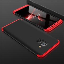 Funda 360 Samsung Galaxy A8 2018 Negra y Roja