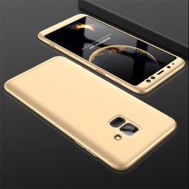 Funda 360 Samsung Galaxy A8 2018 Dorada