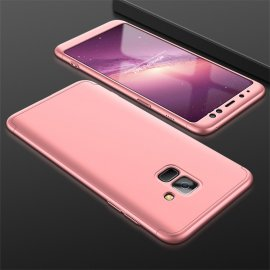Funda 360 Samsung Galaxy A8 2018 Rosa