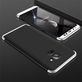 Funda 360 Samsung Galaxy A5 2018 Negra y Gris