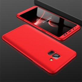 Funda 360 Samsung Galaxy A8 Plus 2018 Roja