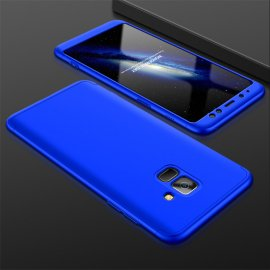 Funda 360 Samsung Galaxy A8 Plus 2018 Azul
