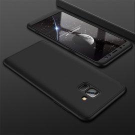 Funda 360 Samsung Galaxy A8 Plus 2018 Negra