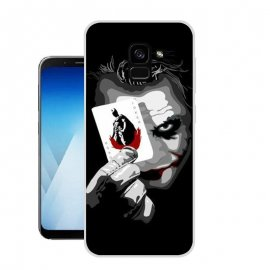 Funda Samsung Galaxy A8 Plus 2018 Gel Dibujo Joker