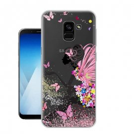 Funda Samsung Galaxy A8 Plus 2018 Gel Dibujo Magico