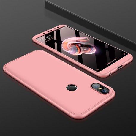 Funda 360 Xiaomi Mi A2 Rosa
