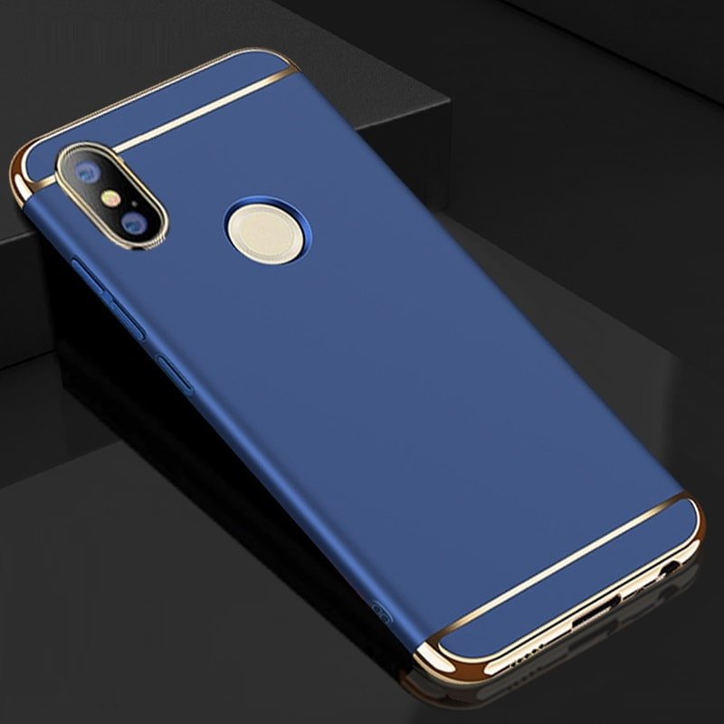 Funda Xiaomi Mi A2 Cromadas Azul