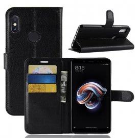 Funda Libro Xiaomi Mi A2 Soporte Negra