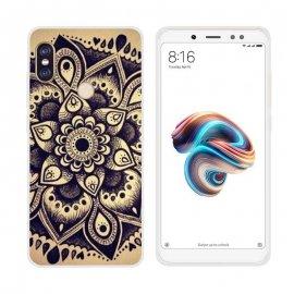 Funda Xiaomi Mi A2 Gel Dibujo Flor