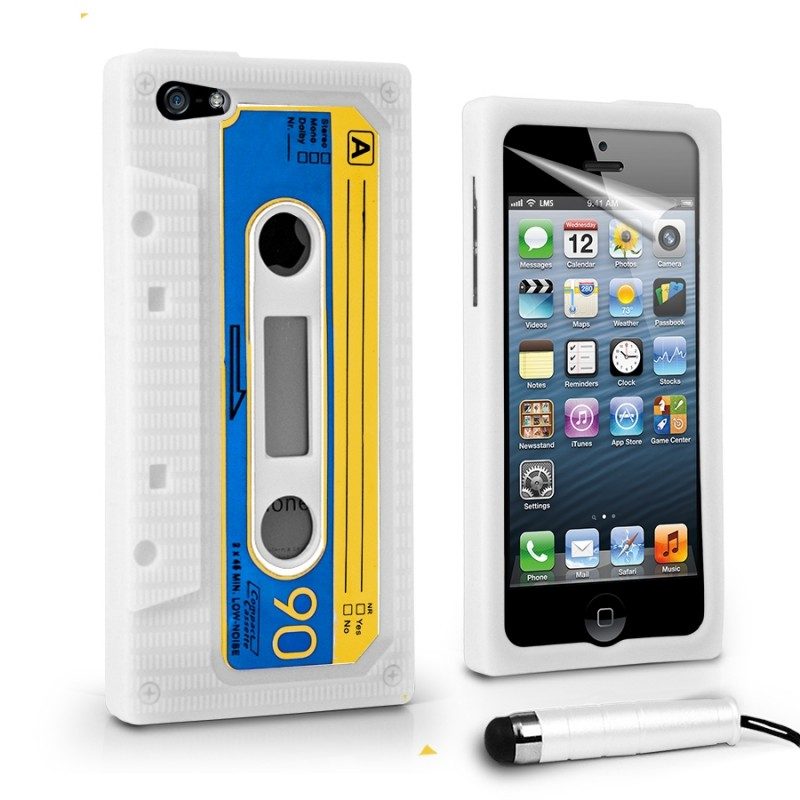 Funda iphone 5 silicona cassette - Fundas iphone silicona ...