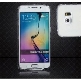 Gel Cover Samsung Galaxy S6 Edge Transparente