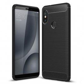 Funda Xiaomi Mi 6X Tpu 3D Cepillada Negra