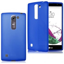 Funda LG G4c Gel Blanca Doble Mate