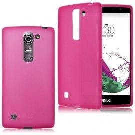 Funda LG G4c Gel Azul Doble Mate