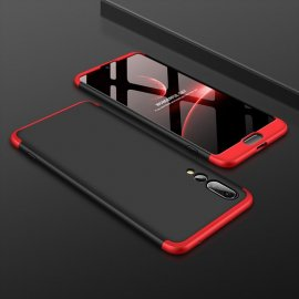 Funda 360 Huawei P20 Pro Negra y Rojo