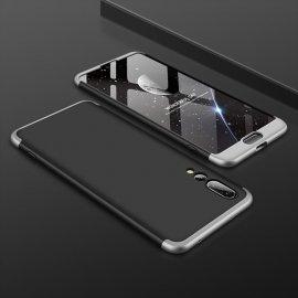 Funda 360 Huawei P20 Pro Negra y Gris