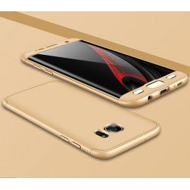 Funda 360 Samsung Galaxy S7 Edge Dorada