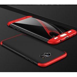 Funda 360 Samsung Galaxy S6 Edge Roja y Negra
