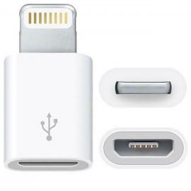 Adaptador micro USB a formato Iphone 5