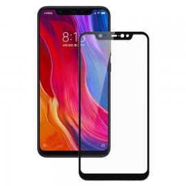 Protector Pantalla Cristal Negro Templado Xiaomi MI 8
