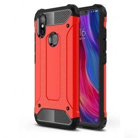 Funda Xiaomi MI 8 Shock Resistante Roja
