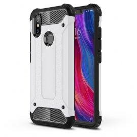 Funda Xiaomi MI 8 Shock Resistante Blanca