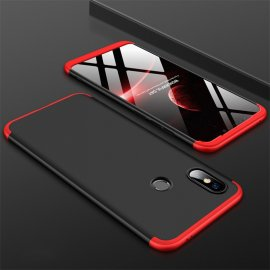 Funda 360 Xiaomi Mi 8 Roja y Negra