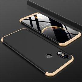 Funda 360 Xiaomi Mi 8 Oro y Negra