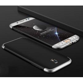 Funda 360 Samsung Galaxy J7 2017 Negra y Gris