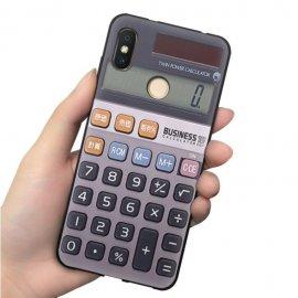 Funda Xiaomi MI 8 Gel Dibujo Calculadora