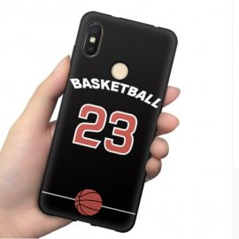 Funda Xiaomi MI 8 Gel Dibujo Basketball
