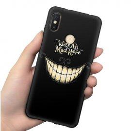 Funda Xiaomi MI 8 Gel Dibujo Sonrisa