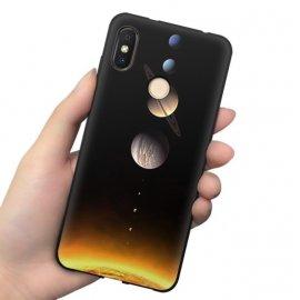 Funda Xiaomi MI 8 Gel Dibujo Cosmos
