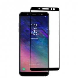Protector Pantalla Cristal Templado Premium Samsung Galaxy A6 2018 Negro