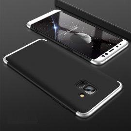 Funda 360 Samsung Galaxy A6 2018 Negra y Gris