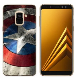 Funda Samsung Galaxy A6 2018 Gel Dibujo America