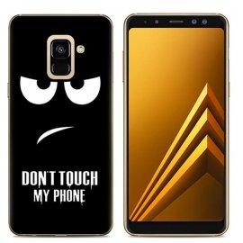 Funda Samsung Galaxy A6 2018 Gel Dibujo Enfadado