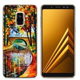Funda Samsung Galaxy A6 2018 Gel Dibujo Cuadro