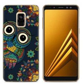 Funda Samsung Galaxy A6 2018 Gel Dibujo Buho