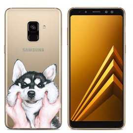 Funda Samsung Galaxy A6 2018 Gel Dibujo Perro