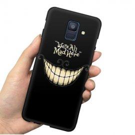Funda Samsung Galaxy A6 2018 Gel Dibujo Sonrisa