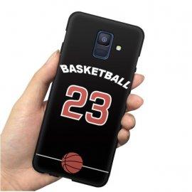 Funda Samsung Galaxy A6 2018 Gel Dibujo BasketBall